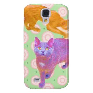 Retro Kitties Samsung Galaxy S4 Galaxy S4 Case
