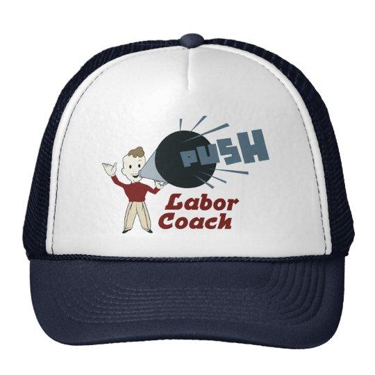 Retro Labour Coach Cap