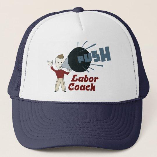 Retro Labour Coach Trucker Hat