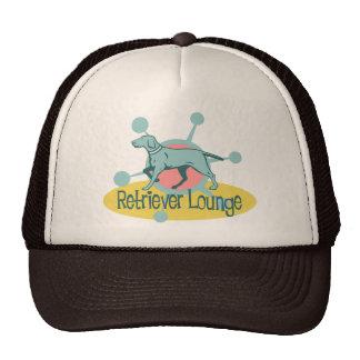 Retro Labrador Retriever  Lounge Cap