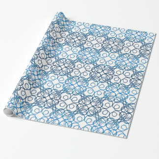 Retro lace pattern wrapping paper