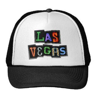 Retro Las Vegas Neon Hats