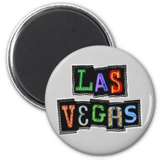 Retro Las Vegas Neon Magnet