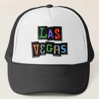 Retro Las Vegas Neon Trucker Hat