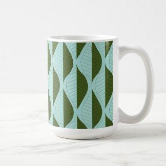 Retro Leaves Mug