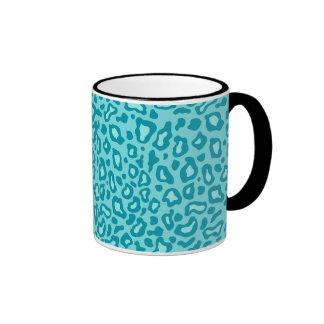 Retro Leopard Print Mug
