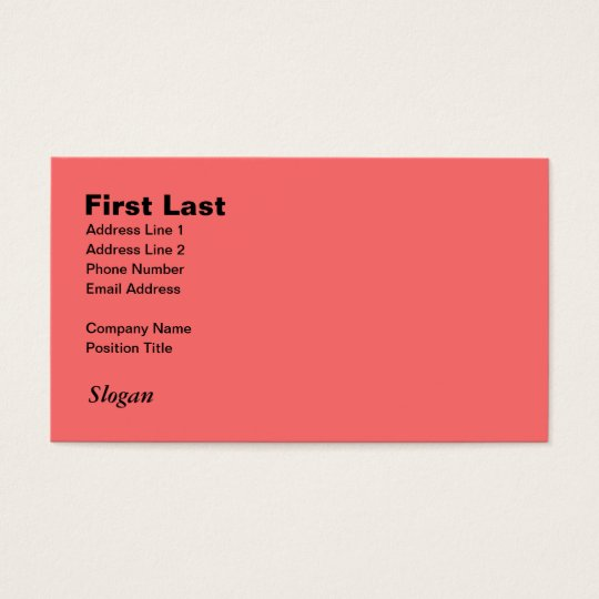 Retro Light Pink Squares vs Modern Dark Salmon Business Card
