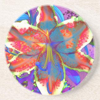 Retro Lily Coaster