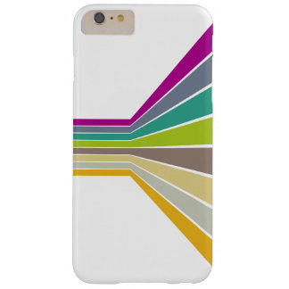 Retro Lines Barely There iPhone 6 Plus Case