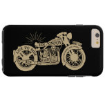 Retro Live To Ride Vintage Motorcycle with Text