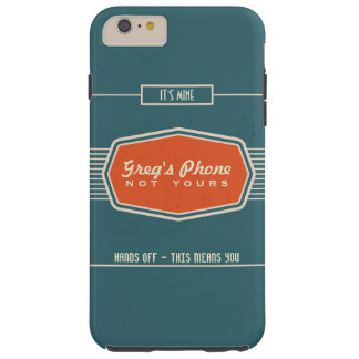Retro Logo Funny Personalized Phone Case