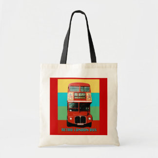 Retro London Bus Bag