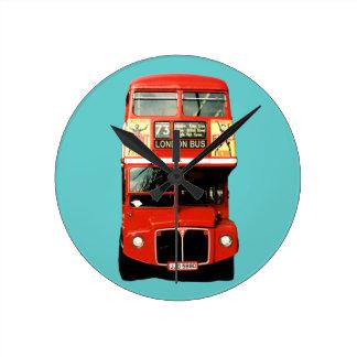Retro London Bus Clock