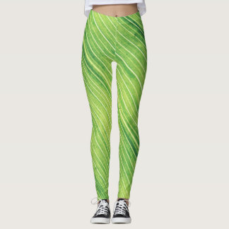 Retro look leggings
