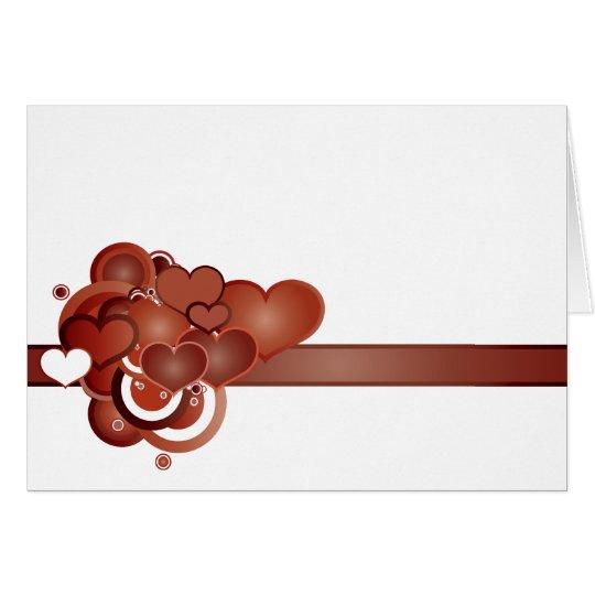 Retro Love Greeting Card