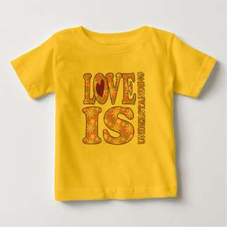 Retro Love Is Understanding Infant Tee