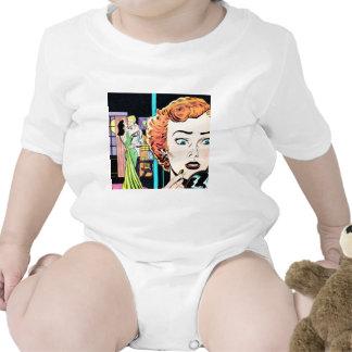 Retro Love Romance Relationship Art Baby Creeper