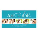 RETRO LOVE | SAVE THE DATE ANNOUNCEMENT PERSONALISED PHOTO CARD