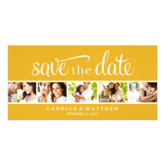 RETRO LOVE | SAVE THE DATE ANNOUNCEMENT PHOTO CARD TEMPLATE