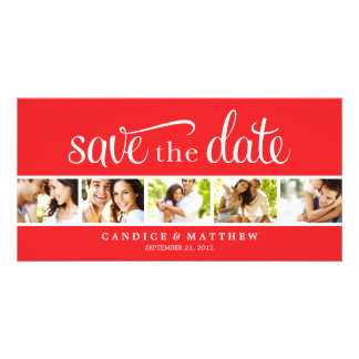 RETRO LOVE | SAVE THE DATE ANNOUNCEMENT PICTURE CARD
