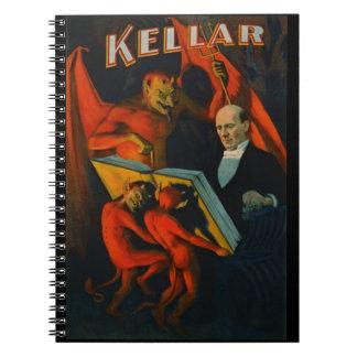 Retro Magic Poster 1894 Notebook