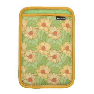 Retro Magnolia Pattern iPad Mini Sleeve