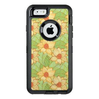 Retro Magnolia Pattern OtterBox iPhone 6/6s Case