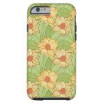 Retro Magnolia Pattern Tough iPhone 6 Case