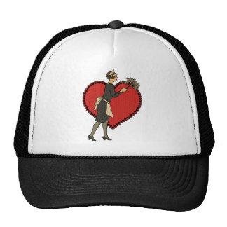 Retro Maid Mesh Hats
