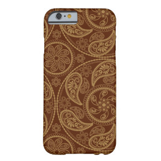 Retro mandala pattern barely there iPhone 6 case