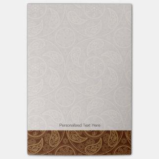 Retro mandala pattern post-it notes