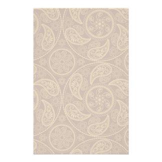 Retro mandala pattern stationery