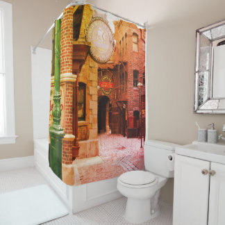 Retro Manhattan - Shower Curtain