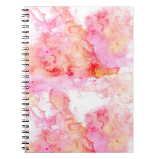 Retro Marble Stone Texture Pattern Notebook