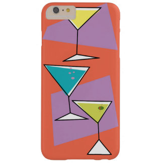 Retro Martinis iPhone Case Barely There iPhone 6 Plus Case