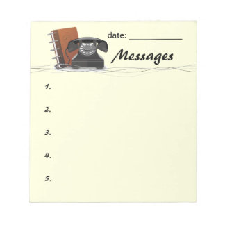 Retro Message Pad