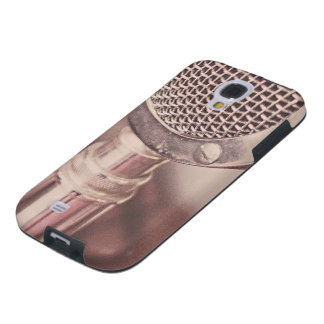 Retro Mic Galaxy S4 Case