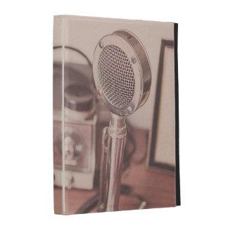 Retro Mic iPad Folio Cover