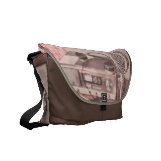 Retro Mic Courier Bag