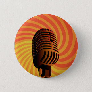 Retro Microphone custom button