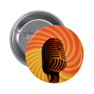 Retro Microphone custom button