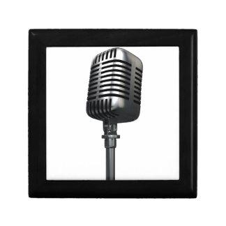 Retro Microphone Gift Box