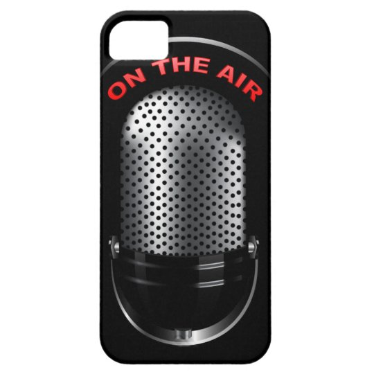 Retro Microphone iPhone 5 Cover