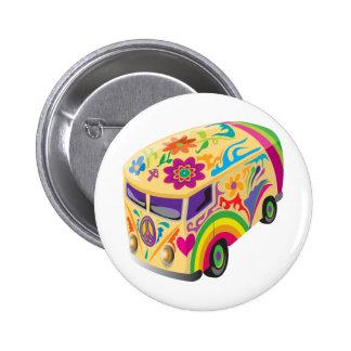 Retro Minvan 6 Cm Round Badge