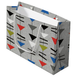 Retro Mobiles Large Gift Bag