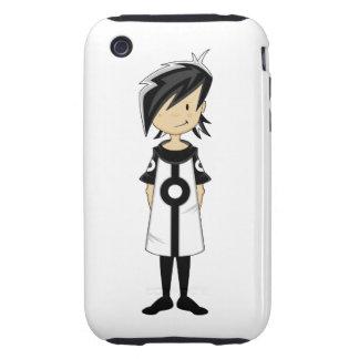 Retro Mod Girl Case iPhone 3 Tough Case