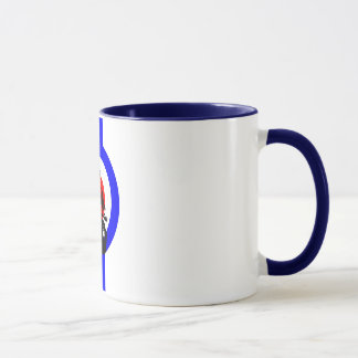 Retro Mod rider Mug