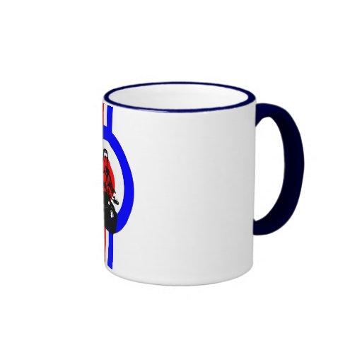 Retro Mod rider Ringer Mug