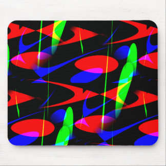 Retro Modern Abstract Mousepads