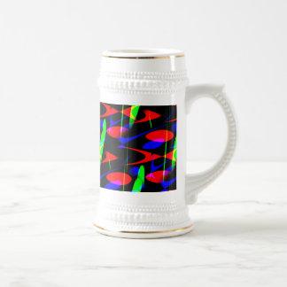 Retro Modern Abstract Mugs
